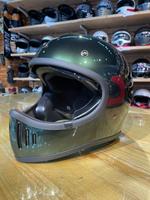 任我行騎士部品 Gallop M2 山車帽 內藏墨鏡 全罩 安全帽 #橄欖綠