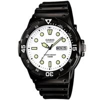 【CASIO 卡西歐】潛水風格輕巧運動手錶(MRW-200H-7E)