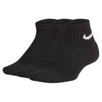【NIKE 耐吉】襪子 大童 童襪 訓練襪 6雙組 Y NK EVERYDAY CUSH ANKLE 黑 SX6844-010