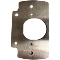 合頁安裝板 櫃門合頁鉸鏈不銹鋼修復固定板廚櫃衣櫃門 修復安裝板