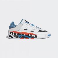 【adidas 愛迪達】休閒鞋 男鞋 運動 板鞋 三葉草 NITEBALL 白藍 FX7644