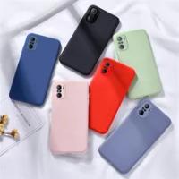 For Xiaomi Redmi Note 10 Case Liquid Silicone Rubber Case For Redmi Note 10 Pro Max Cover for Redmi 10 Redmi Note 10 Note 10 Pro