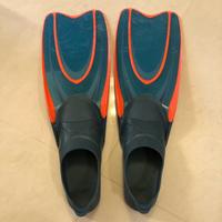 轉賣 二手 迪卡儂 成人人體工學浮潛蛙鞋
