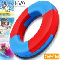 實心EVA安全浮圈(加厚45CM)成人兒童泳圈救生圈.泡沫圈免充氣游泳圈.玩水助泳板打水板.漂浮踢水板飄浮板.運動水上用品.推薦哪裡買ptt  D087-A720