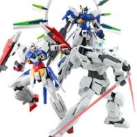 1/144 Bandai ประกอบรุ่น HG AGE123 FX G-BOUNCER FULL GLANSA G-EXES Gundam รูปประกอบของเล่น