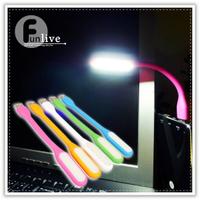馬卡龍USB隨身燈-B版-NG瑕疵版 非小米USB燈 應急照明 可彎曲行動電源Led手電筒 照明燈 閱讀燈 可接行動電源變露營燈