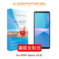 【愛瘋潮】99免運  NIRDOSA 滿版全貼合 SONY Xperia 10 III 鋼化玻璃 螢幕保護貼 強化玻璃 保護貼