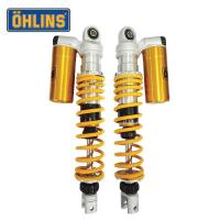 【OHLINS】XMAX 300 後避震器 重機(YA740 共兩組彈簧)