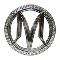 光陽 M-logo 水鑽貼紙 G86232-LKC7-710-T01 魅力 many 50 100 110 前面板貼紙