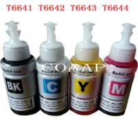 Compatible set ink for T6641-T6644 664 for EPSON L130 L132 L300 L310 L301 L312 L303 L313 L350 L351 L353 L355 L360 Printer
