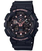 刷卡滿3千回饋5%點數|CASIO 卡西歐 GA-100GBX-1A4 GSHOCK 世界時間雙顯計時錶 黑 55mm