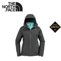 【The North Face 女 GTX防水透氣三合一外套《灰》】3KTP-7LP/保暖外套/連帽外套/戶外登山