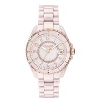 刷卡滿3千回饋5%點數 COACH Preston系列陶瓷腕錶/粉14503463