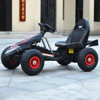兒童電動車四輪卡丁車雙驅可坐男女寶寶遙控玩具充氣輪沙灘車  領券下定更優惠