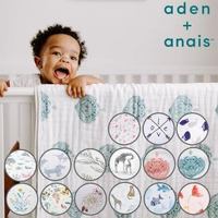 【aden+anais】經典四層紗厚毯(15款)