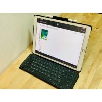 iPad Pro(12.9英吋)Wi-Fi 256GB+Apple Pencil +羅技夜光鍵盤(二手)
