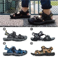 【LOTTO】男 護趾戶外/排水磁扣/健走運動涼鞋(4款任選)