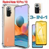 RedmiNote 10 Pro Case For Xaomi Redmi Note 10 Pro 128 gb global Silicone Cases Redmi Not 10 Phone Accesorios Redmi Note10Pro Shockproof Back Cover Redmi Note10 Pro