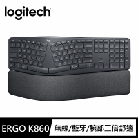 【Logitech 羅技】Ergo K860人體工學鍵盤