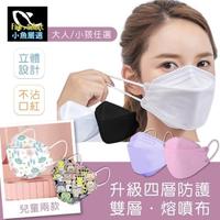 【小魚嚴選】韓國KF94雙層融噴布四層防護口罩(10入/包*6包)