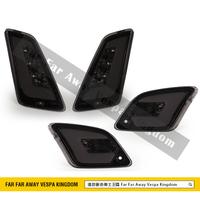 遠的要命偉士王國 Vespa GTS/GTV 方向燈組 燻黑 透明 LED
