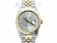ROLEX錶 勞力士 16233 經典日誌 中金 包檯十鑽面盤 自動 編號F31138R