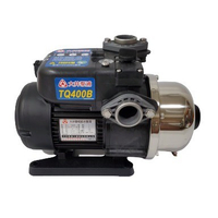 【泵浦五金】大井TQ400 1/2HP 電子穩壓加壓馬達*加壓機*低噪音 TQ400B
