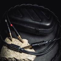 志達電子 大力揚Power Praise 闇 Dark 雙邊出線 耳機升級線 多訊源可選 HD800 HD650 D7100 A2DC SRH1840