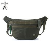 【PORTER INTERNATIONAL】NEW HEAT潮流時尚腰包(森林綠)
