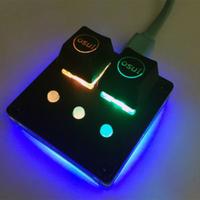 【現貨速發】1設置新的AmusingKeypad V3.1 osu!鍵盤可編程鍵盤CherryRGB-Switch ✨W