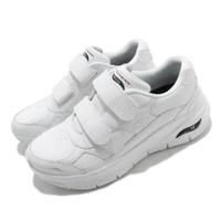 Skechers 工作鞋 Arch Fit Best Step 女鞋 全白
