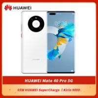 ต้นฉบับ HUAWEI Mate 40 Pro 5G สมาร์ทโฟน6.76นิ้ว Kirin 9000 Octa Core 5nm หัตถกรรมบลูทูธ5.2 65W HUAWEI SuperCharge