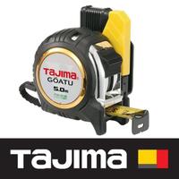 【Tajima 田島】剛厚包膠捲尺 5米x25mm/台尺 附安全扣(GASFGL2550S)