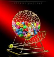 搖號抽獎機 大號金屬搖獎機 搖號機 高檔抽獎機 幸運大轉盤 雙色球選號機