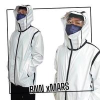 【BNN斌瀛】戰神版MARS 3D立體帽 P3+ 防疫防飛沫機能防護衣夾克(台灣製造)