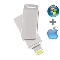 Metal USB Flash Drive for ipad iphone 13 12 11 X 9 8 7 6 5s se OTG Pendrive 16gb 32gb 64gb 128gb memory stick for ios 256gb 512g