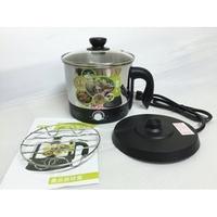 【維康】 2.1L多功能美食鍋(#304不鏽鋼材質+附蒸架) WK-2050快煮壺/電茶壺/火鍋/小電鍋