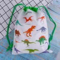 ของขวัญไดโนเสาร์ผ้ากระเป๋าเป้สะพายหลังเด็กกระเป๋าเดินทางกระเป๋าสตางค์
