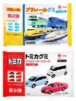 【江戶物語】TOMICA 多美汽車軟糖-可樂味 新幹線軟糖-蘇打味(附貼紙) ORION 好麗友 造型軟糖 慶生同樂
