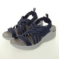 【SKECHERS】女 休閒系列涼拖鞋 PIER-LITE(163271NVY)