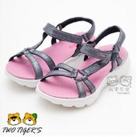 Skechers 粉X銀 ON-THE-GO 400 運動涼鞋 女童鞋 NO.Y1128