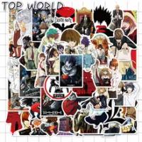 10/50ชิ้น/เซ็ตการ์ตูนอะนิเมะ Death Note Pvc Graffiti สำหรับเด็กโทรศัพท์กรณีกระเป๋าเดินทางหมวกกันน็อกสติ๊กเ...