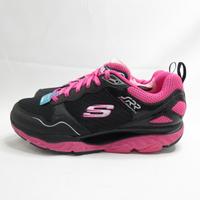 Skechers SRR 女款 回彈力慢跑鞋 足弓推進器 88888338BKHP 黑x粉【iSport愛運動】