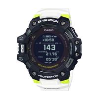 【CASIO 卡西歐】G-SHOCK太陽能藍牙手錶GBD-H1000-1A7(黑x白x螢光黃)