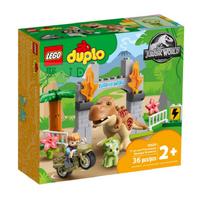 10939【LEGO 樂高積木】Duplo 得寶系列 - T. rex and Triceratops Dinosaur Breakout