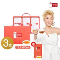 【享食尚】滴雞精15入(60ml/入)x3盒+1入(45ml)(時尚教主 藍心湄代言推薦)