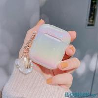 藍芽耳機保護套 韓國小清新AirPods保護套3代蘋果藍牙耳機套AirPods pro殼少女心 快速出貨 雙十一預購