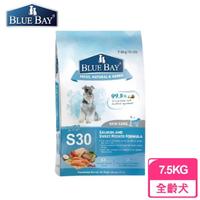 【BLUE BAY 倍力】S30狗飼料 鮭魚《舒敏護膚配方》7.5KG