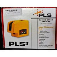 全新PLS3 模板專用 雷射水平儀 三點式 無保固