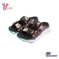 Skechers拖鞋 女拖鞋 運動涼拖鞋 MAX CUSHIONING SANDAL 健走鞋 柔軟Q彈 記憶鞋墊 U8217#黑彩◆OSOME奧森鞋業